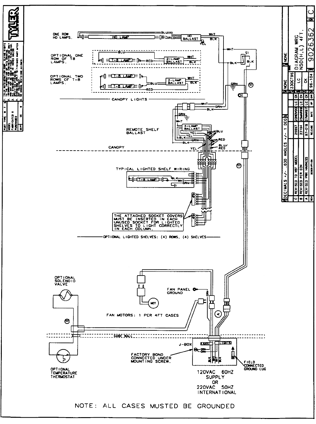 page 7 of tyler refrigeration refrigerator n5d user guide ... true refrigeration wiring diagrams tyler refrigeration wiring diagrams