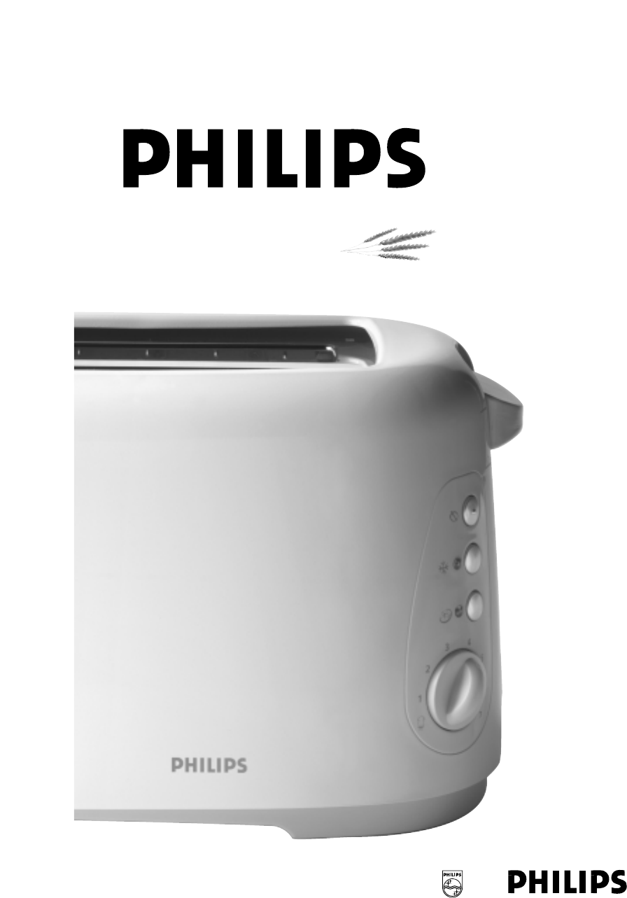 philips toaster hd2528 user guide manualsonline com rh kitchen manualsonline com Philips Universal Remote User Manual Philips TV User Manual