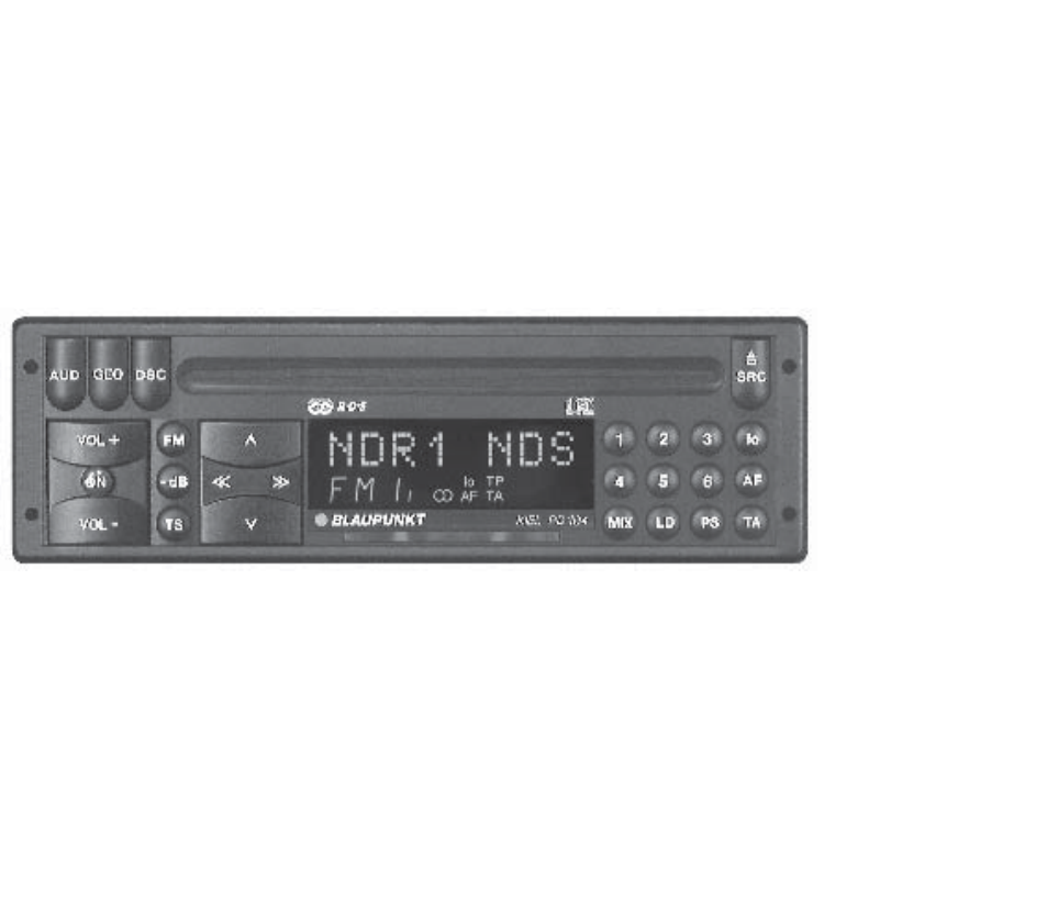 blaupunkt car stereo system rd 104 user guide manualsonline com rh caraudio manualsonline com blaupunkt hr5br user manual blaupunkt travelpilot nx user manual