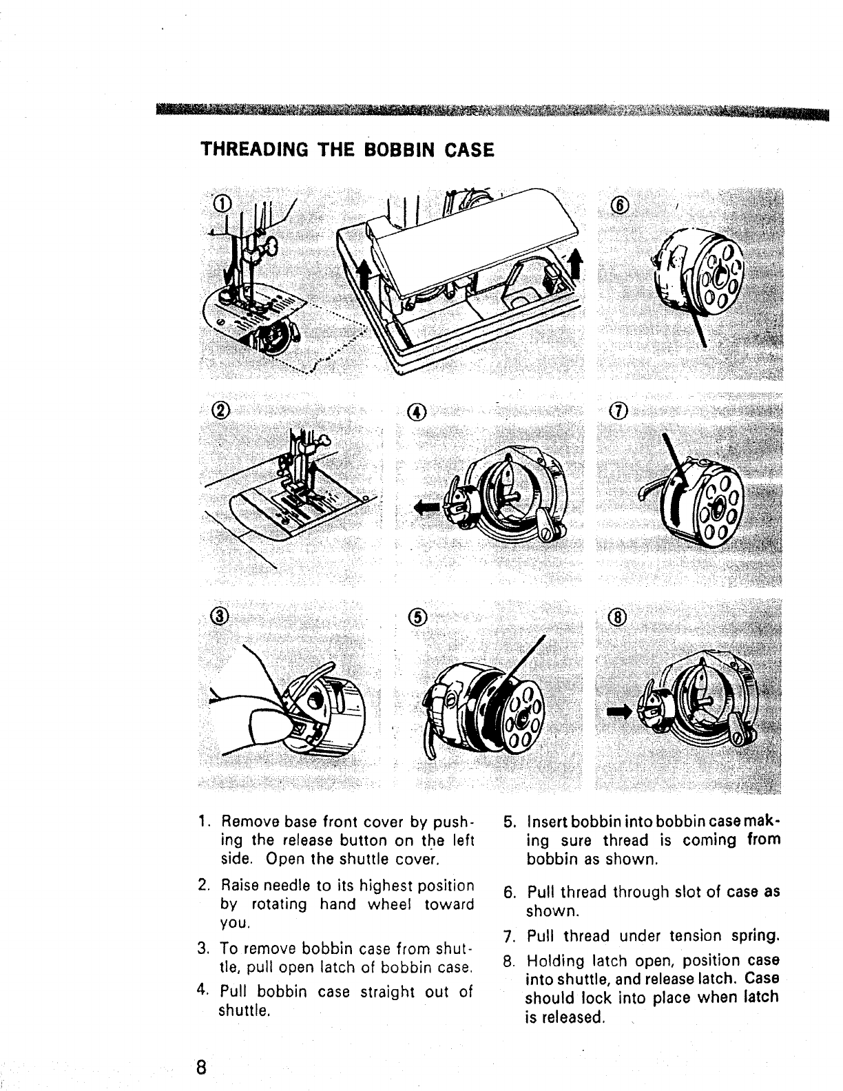Kenmore Bobbin Threading Related Keywords Suggestions 15813453 1581561180 15815952 Sewing Machine Diagram Page 9 Of 1660 User Guide