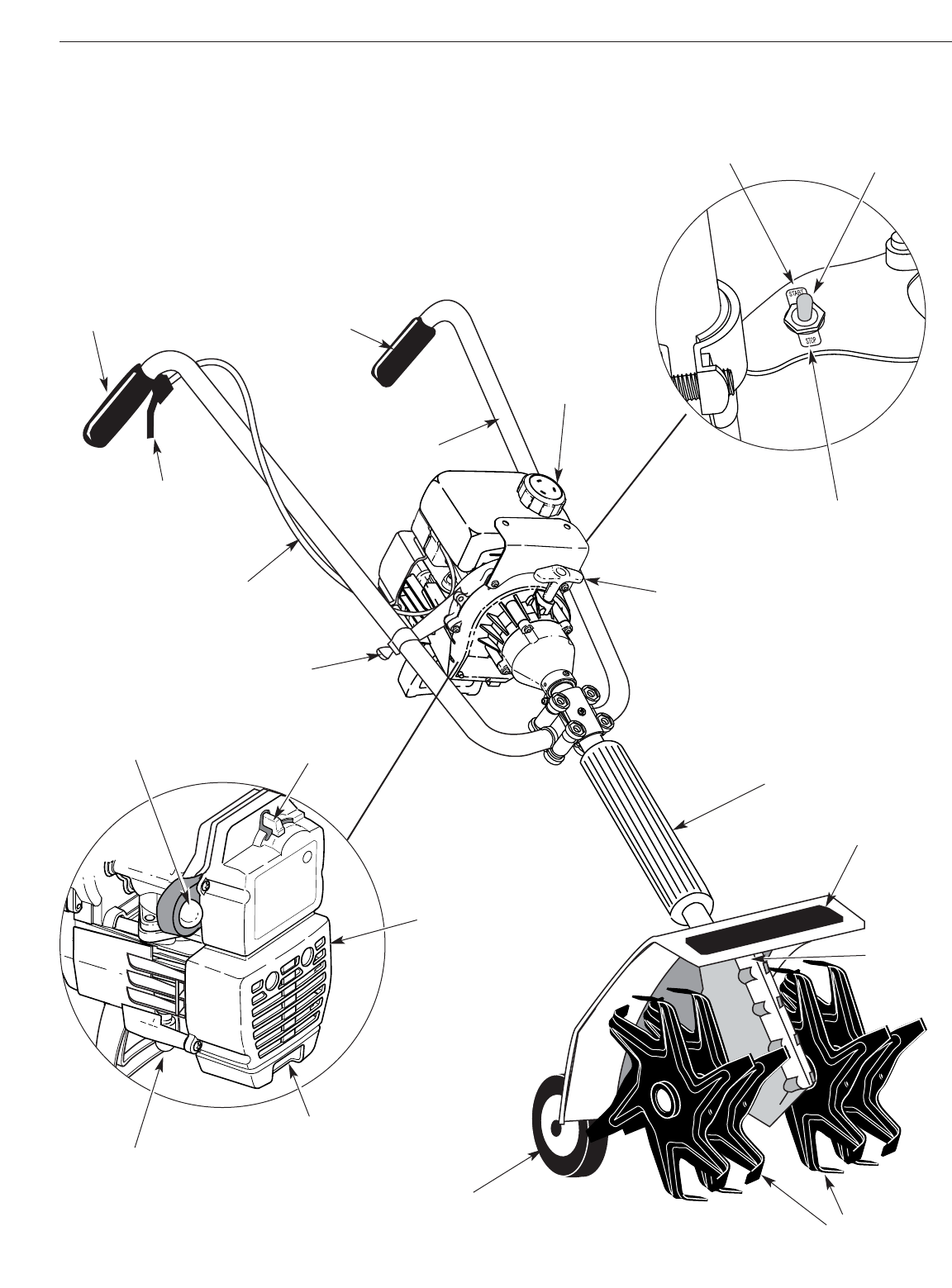 yard machine tiller repair manual