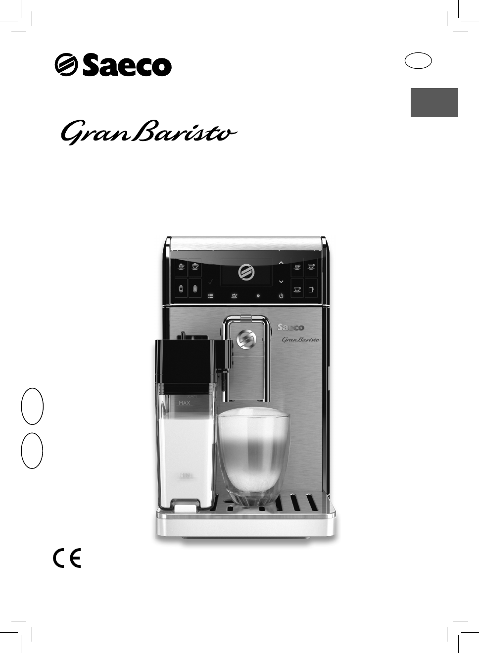 Saeco Coffee Maker Owner S Manual : Saeco Coffee Makers Coffeemaker HD8966 User Guide ManualsOnline.com