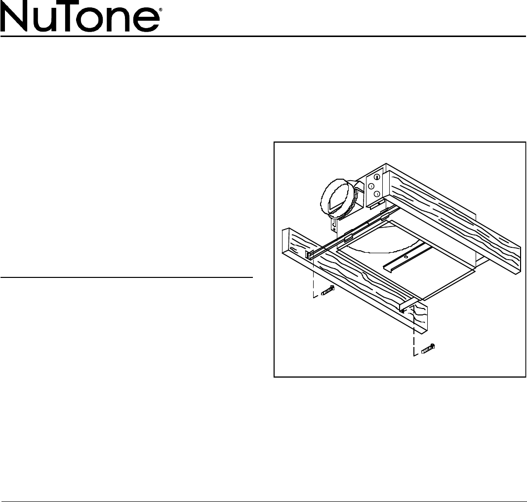 Nutone Vent Hood Wiring Diagram Will Be A Thing Stove Ventilation 668rp User Guide Manualsonline Com Rh Kitchen 1957 Range
