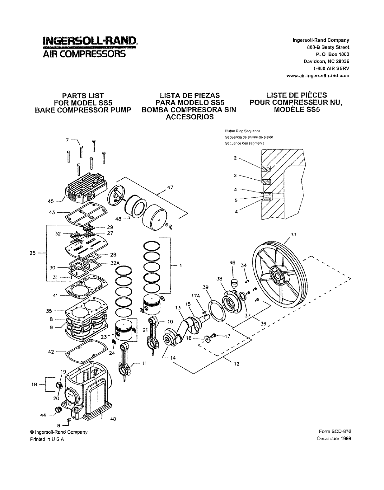 page 9 of ingersoll rand air compressor ss5 user guide rh powertool manualsonline com ingersoll rand user manual Ingersoll Rand ManualDownload