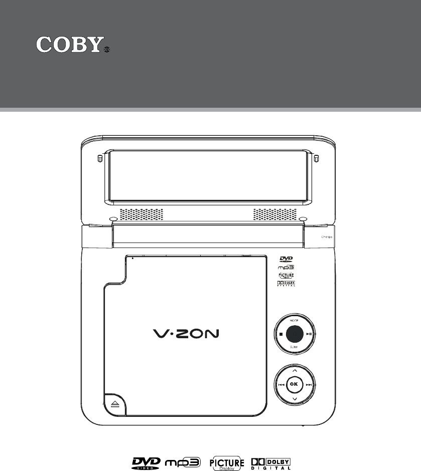 Coby Electronic Portable Dvd Player Tf