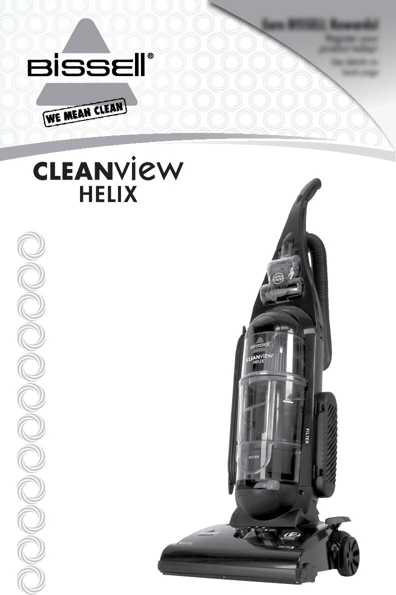 Bissell Vacuum Cleaner 95p1 User Guide Manualsonline Com