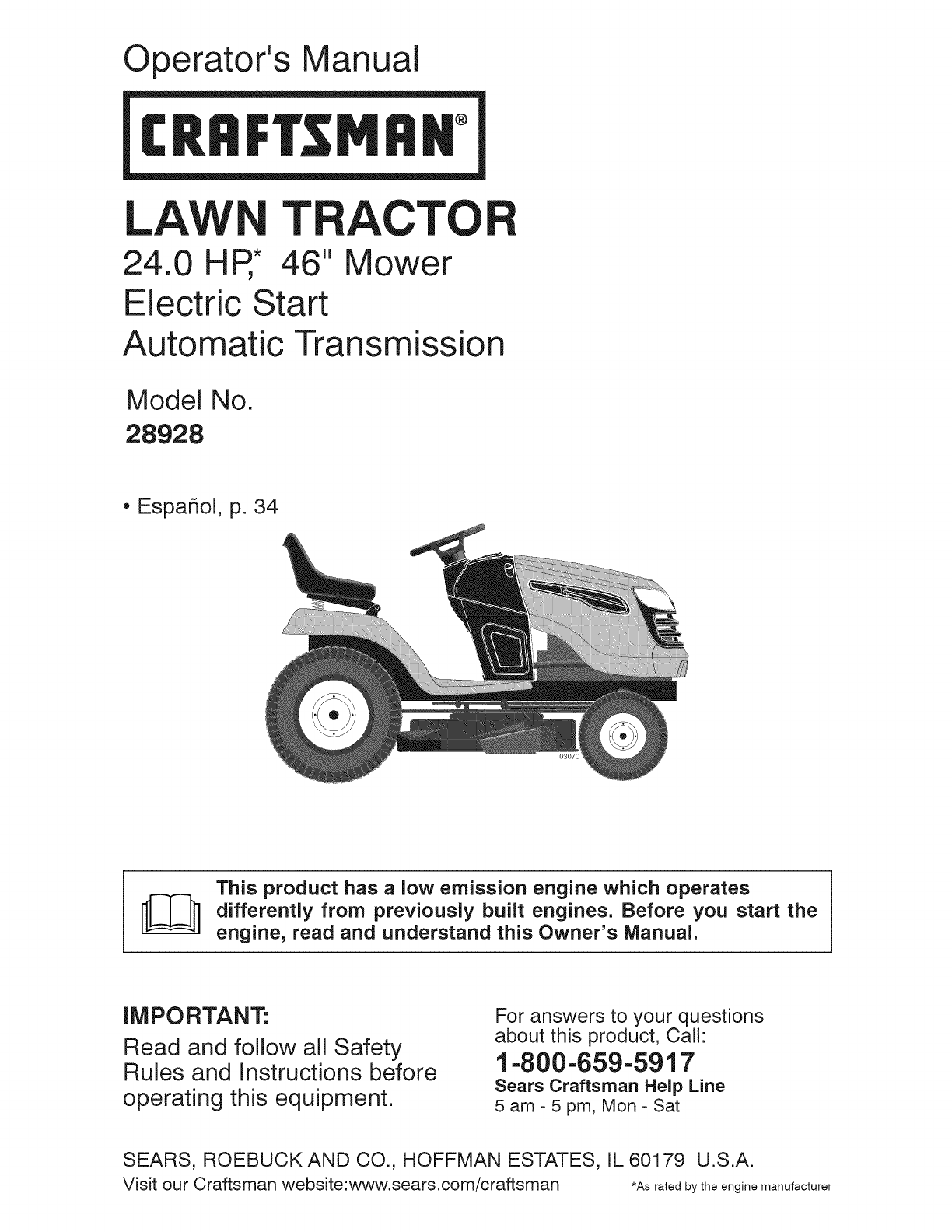 Craftsman Model 917 Mower Wiring Diagram Will Be A 270311wiring 276320 35 155 Hp 42