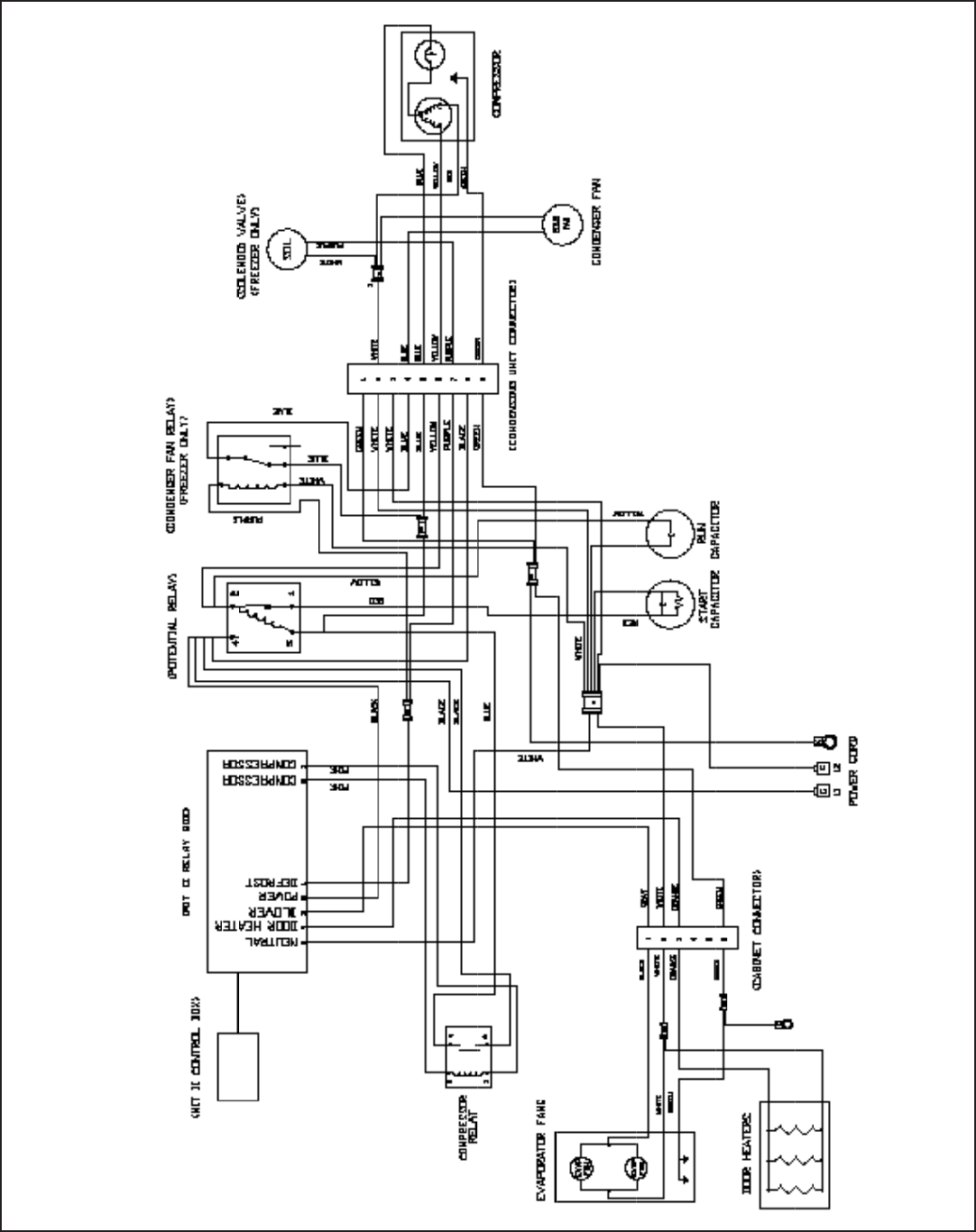 Wiring Diagrams For Traulsen Freezers on wiring diagram for walk in freezer