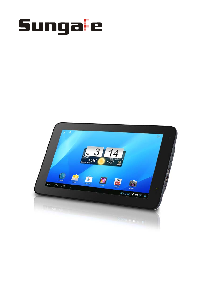sungale tablet id1019wta user guide manualsonline com
