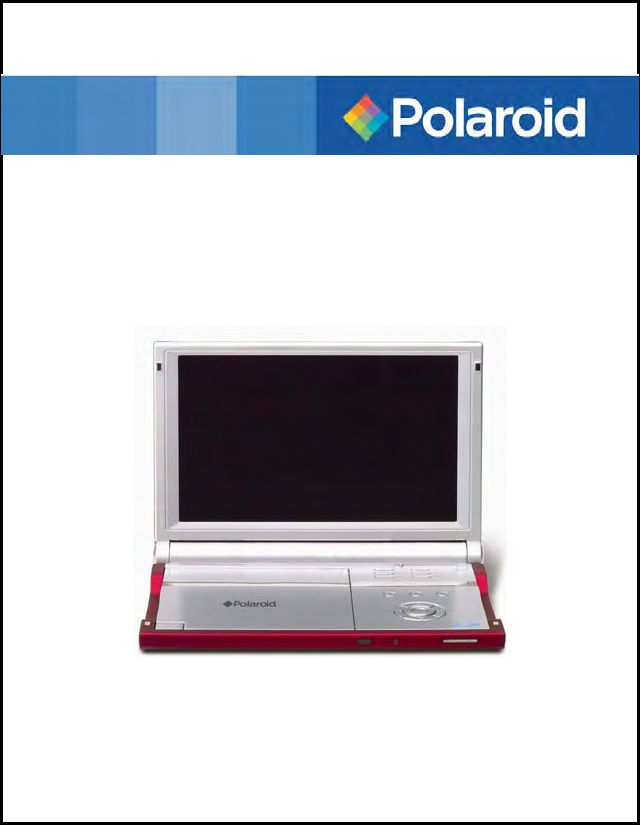 polaroid portable dvd player pdm 0082m user guide. Black Bedroom Furniture Sets. Home Design Ideas