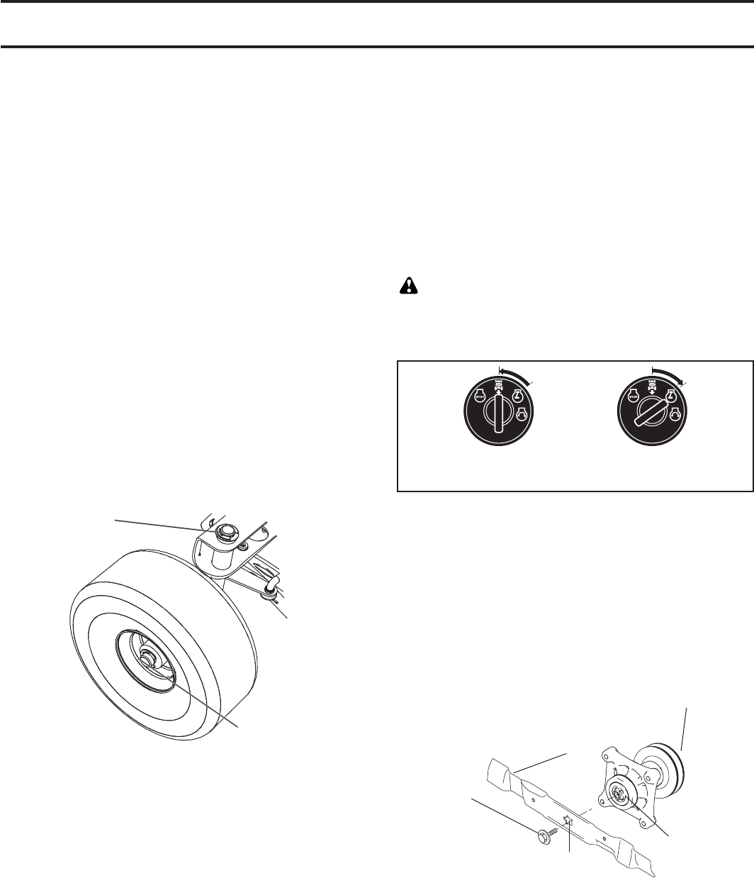 page 14 of mcculloch lawn mower mowcart 66 user guide