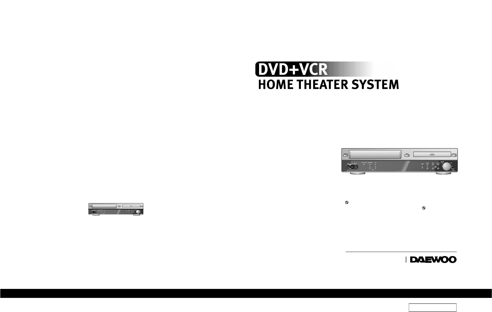 ◇Region code of DVD/Video player for home is 2 or ALL. In inserting a