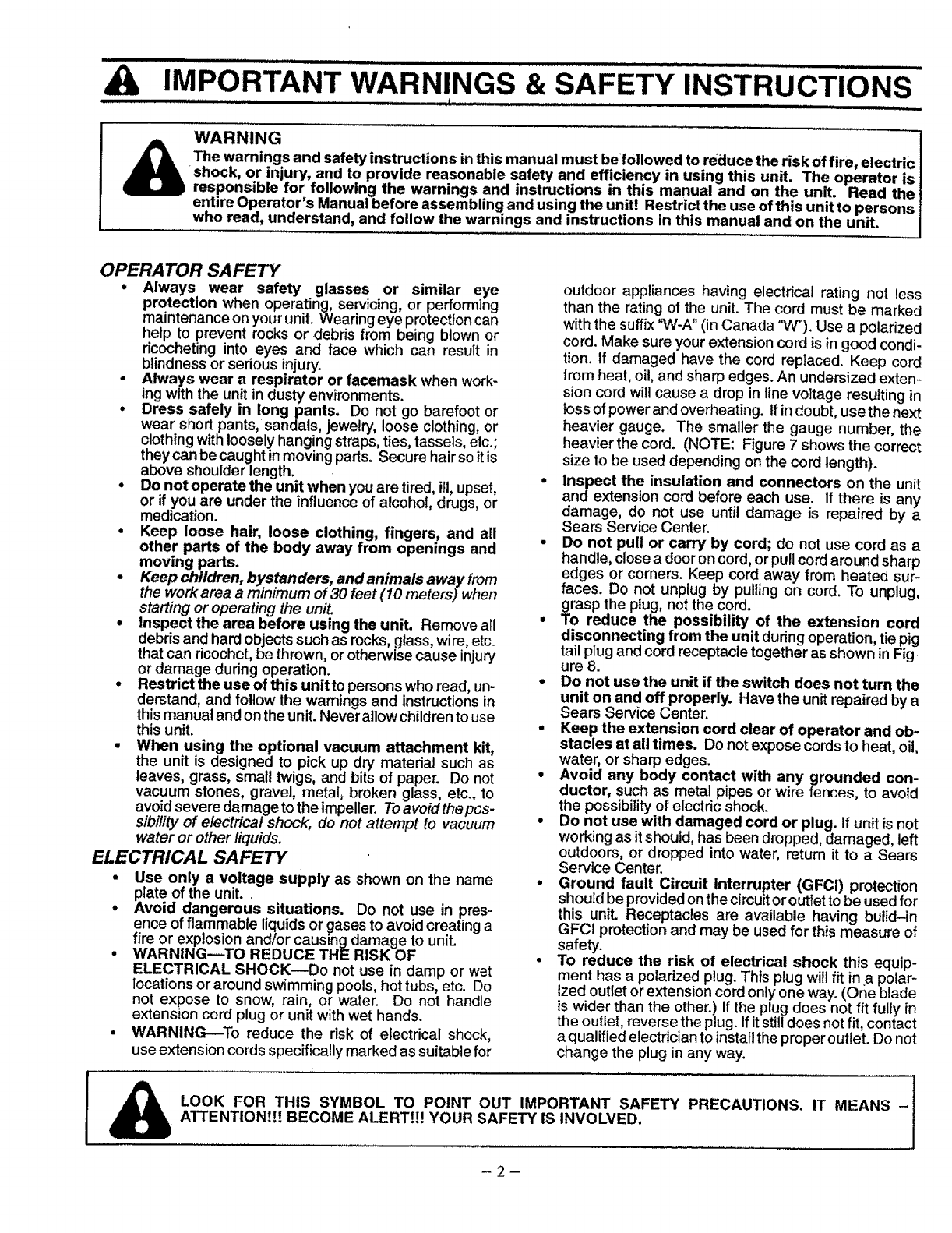 page 2 of univex blower 358 798380 user guide manualsonline com rh lawnandgarden manualsonline com Univex M20 Univex Cheese Grater