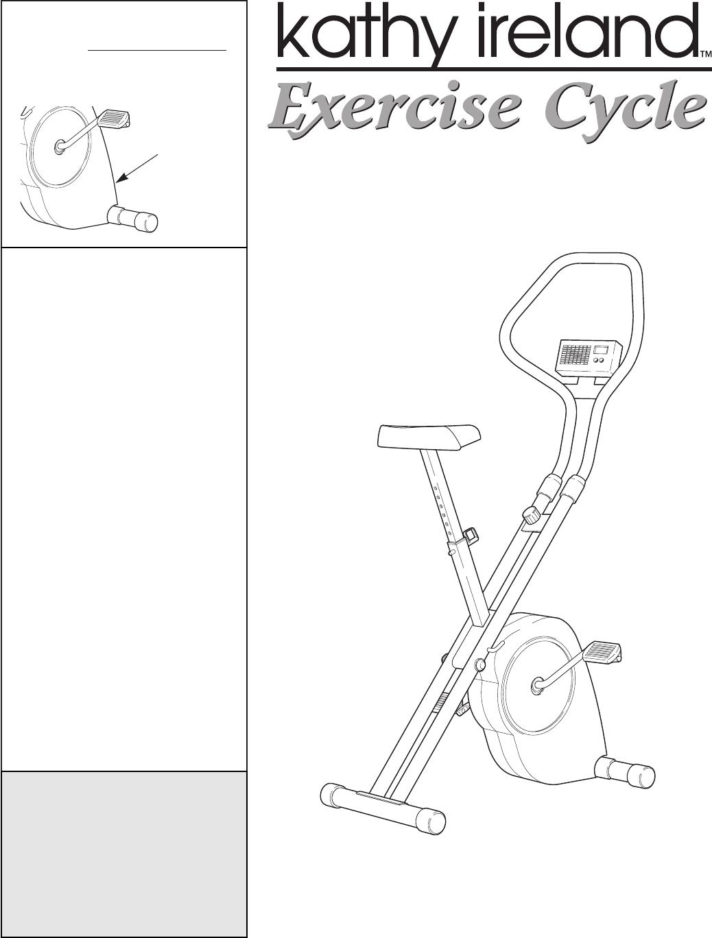 kathy ireland home home gym wlex30380 user guide manualsonline com