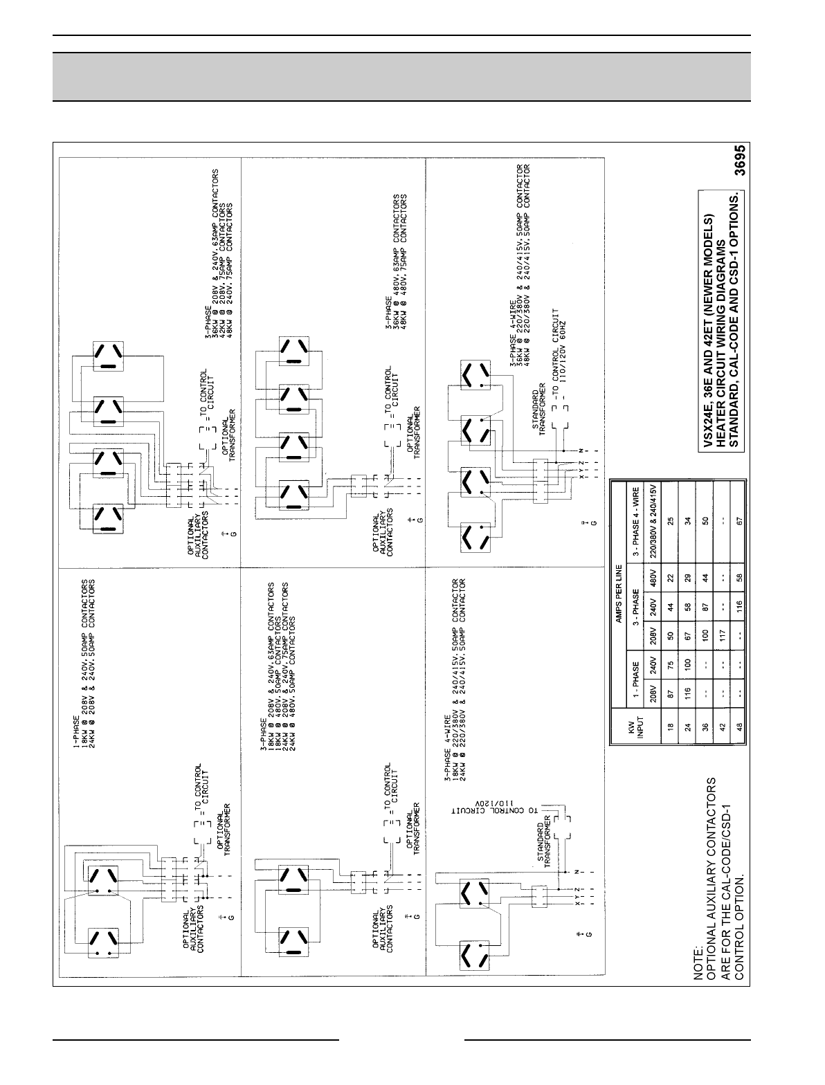 Page 70 Of Vulcan Materials Convection Oven Vsx24d User Guide 18 Kw Wiring Diagram Vsx Series Steamer Electrical Operation