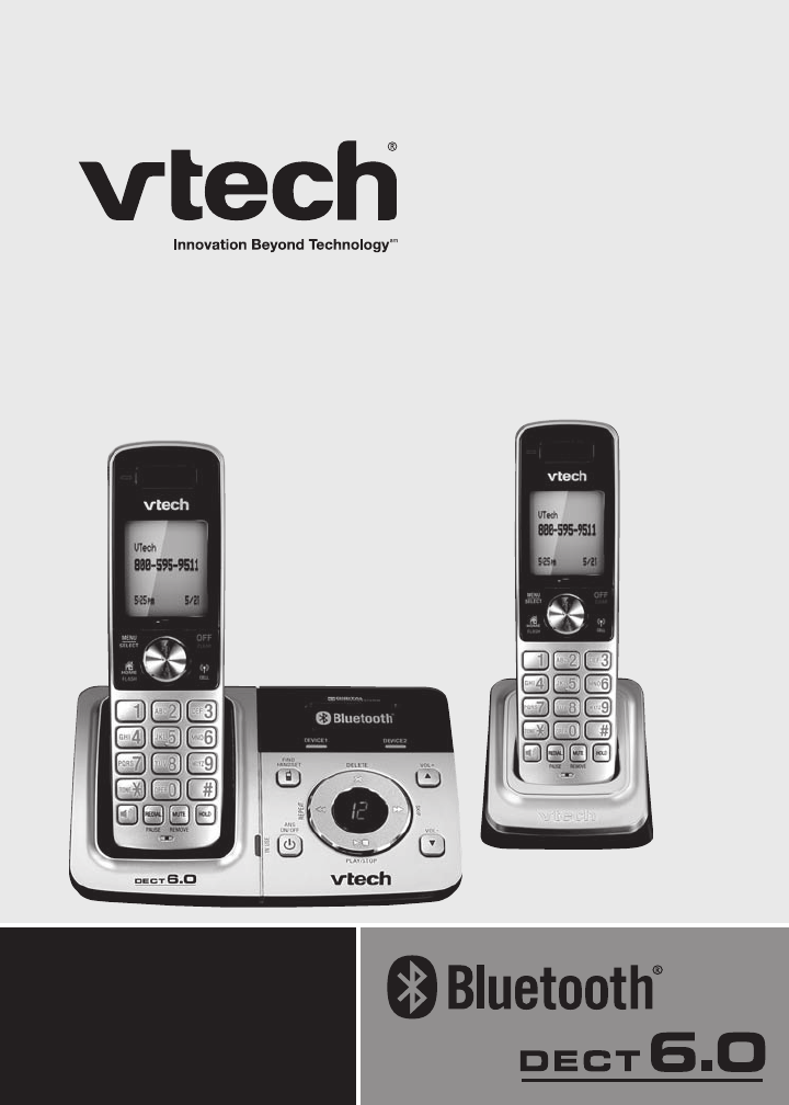 vtech cordless telephone ds6321 2 user guide manualsonline com rh phone manualsonline com vtech cordless phone manual cs6829 vtech cordless phone manual cs6829