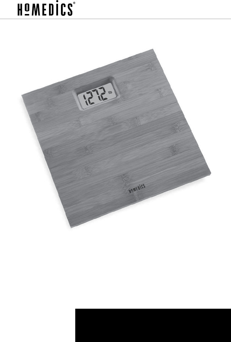 Page 8 Of Homedics Scale Sc 322 User