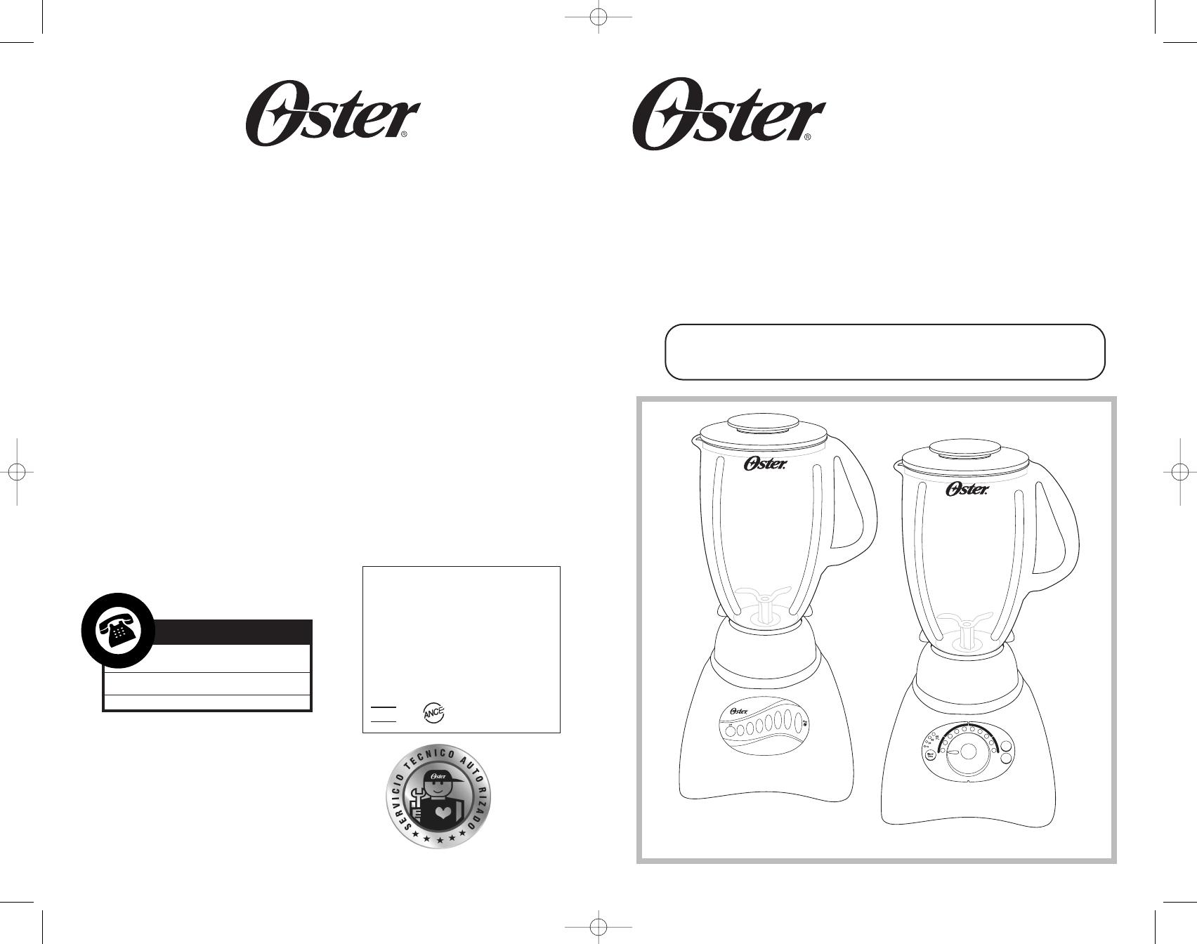 oster blender 6800-6839 user guide | manualsonline
