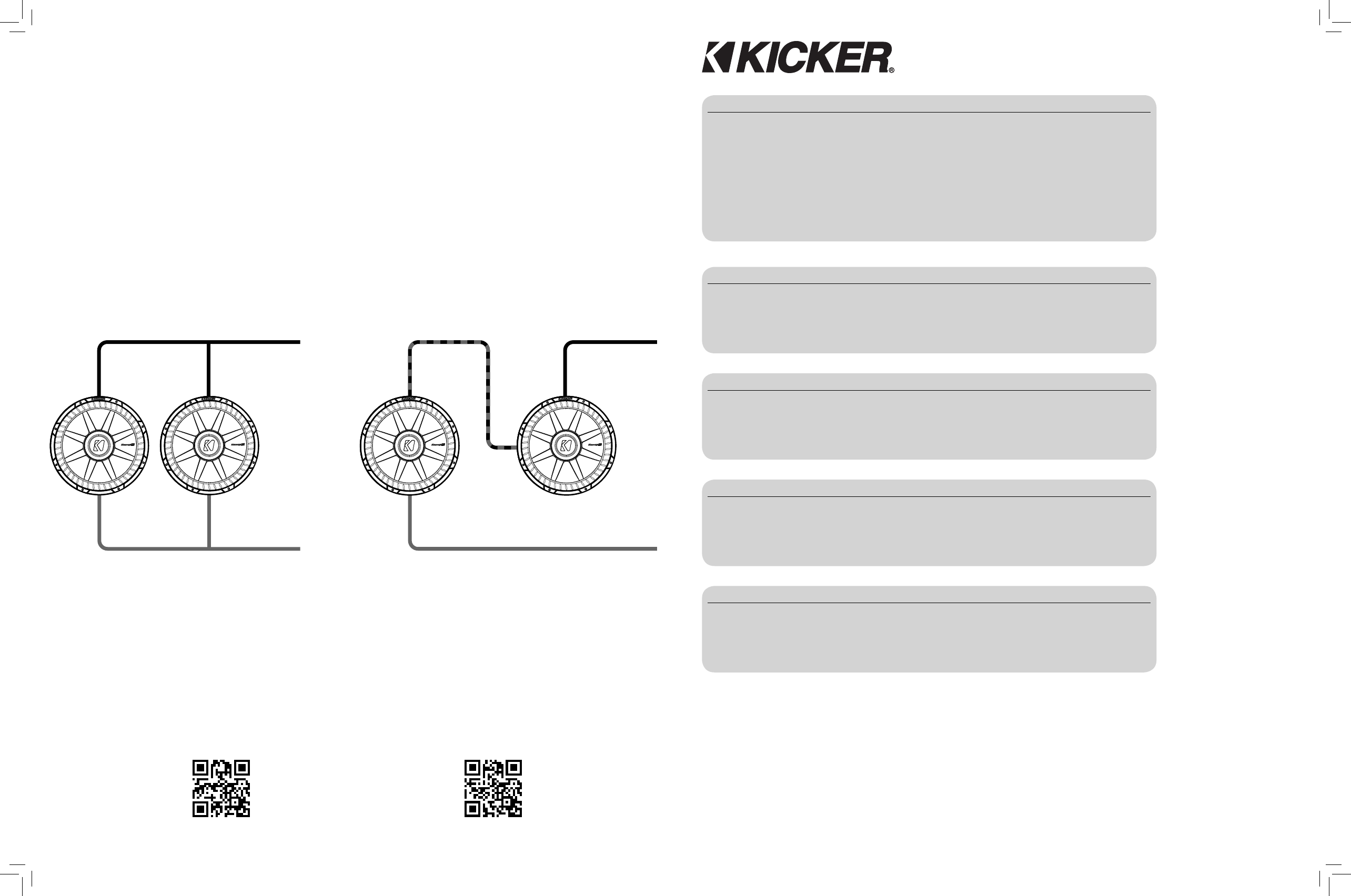 kicker car speaker 40cws104 user guide manualsonline com