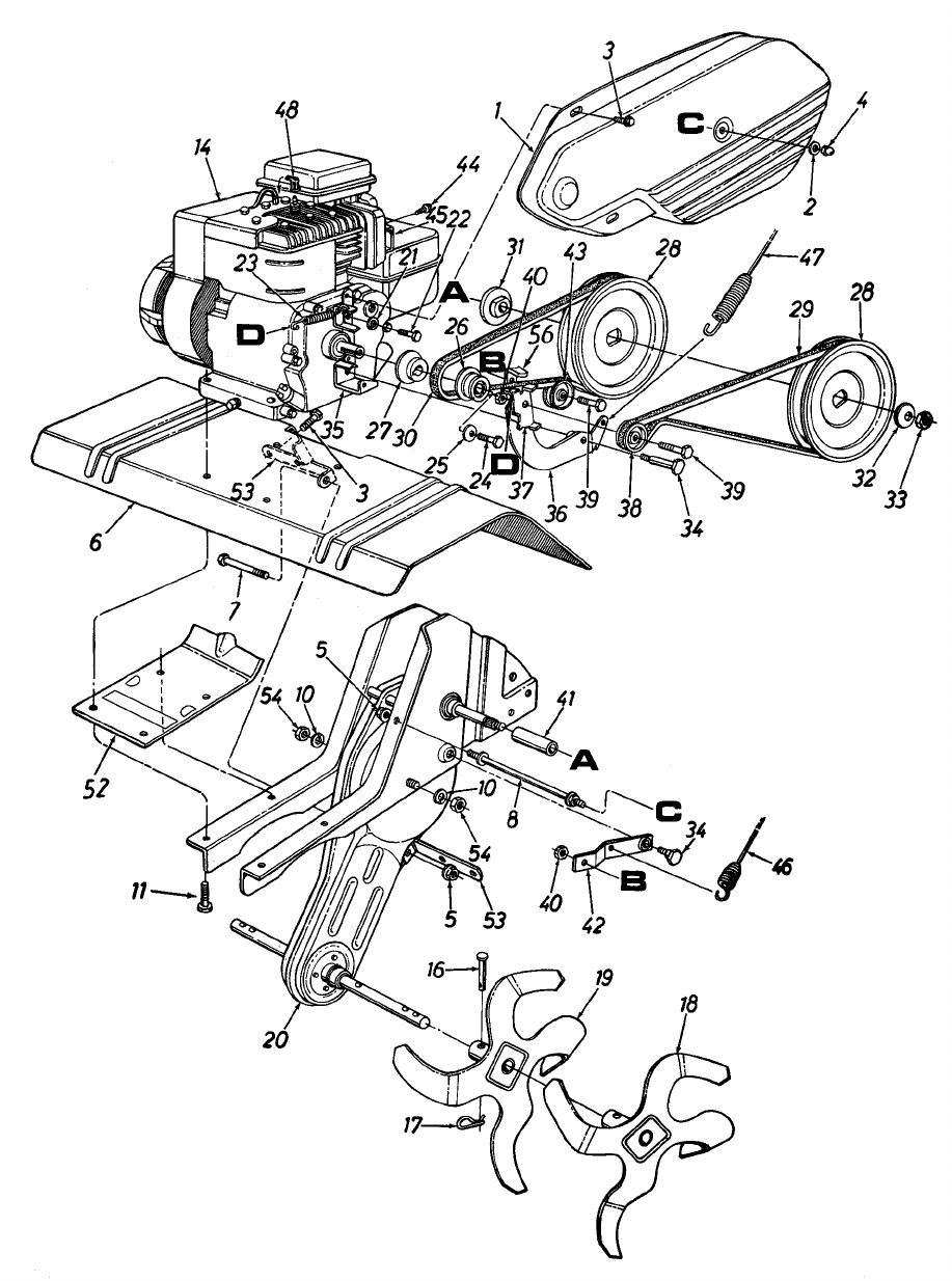 Page 20 Of Yard Machines Tiller 340 Thru 390 User Guide