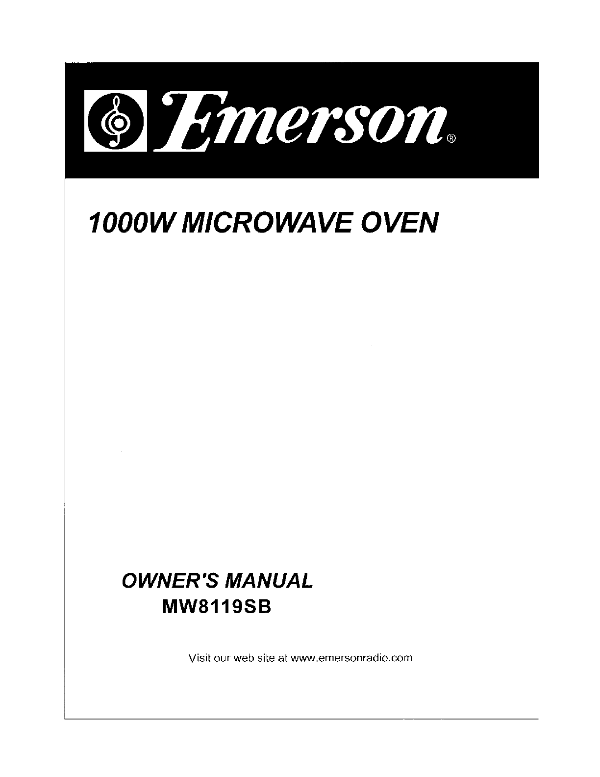 Obsolete Oven Parts Emerson Microwave Mw8119sb Microwave Baked Potato