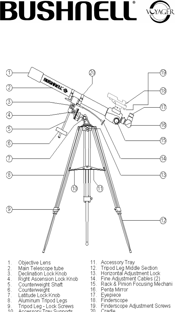 70060 telescope instruction manual