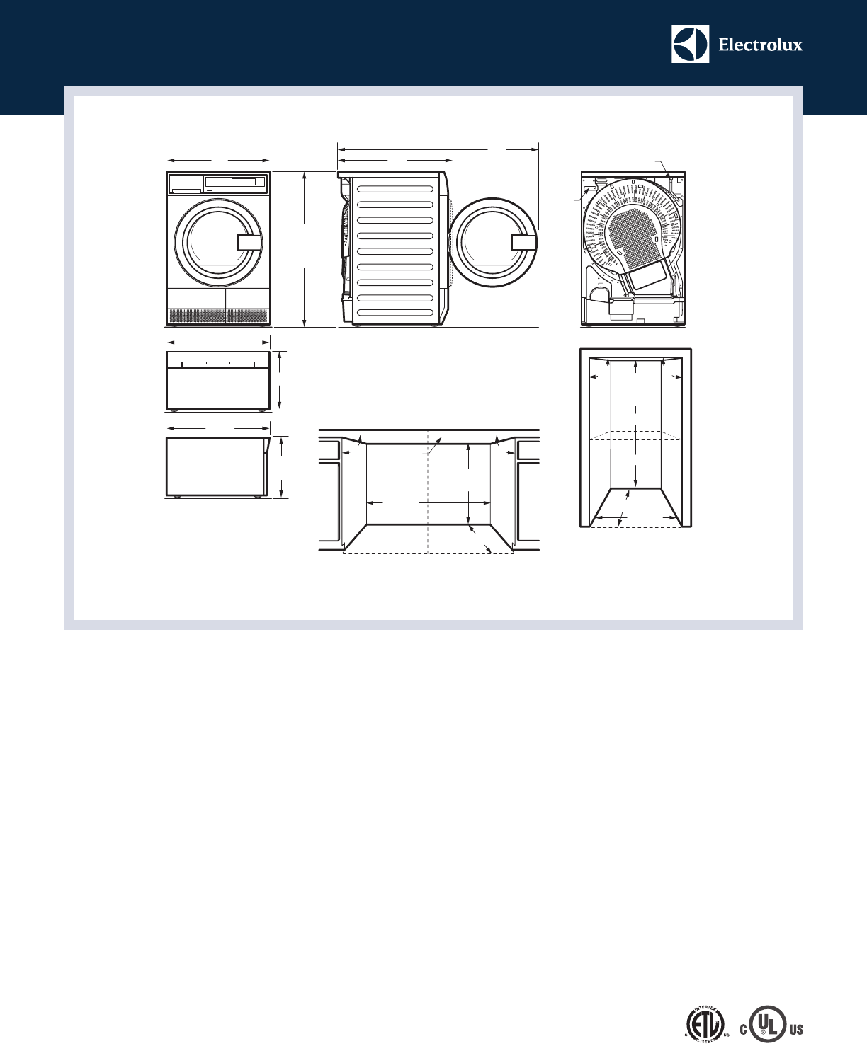 page 3 of electrolux clothes dryer eied200qsw user guide rh laundry manualsonline com Manuals in PDF User Manual Template