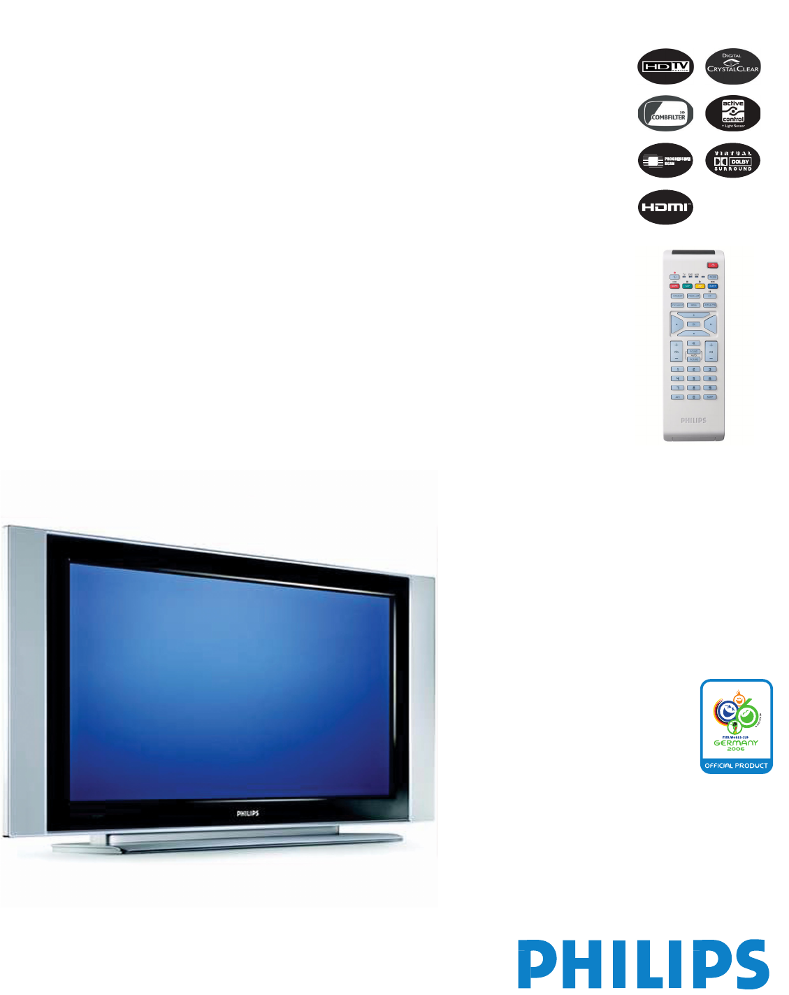 philips flat panel television 32pf5320 user guide manualsonline com rh tv manualsonline com Philips User Guides Speaker Bt7900 Philips Electronics Manuals