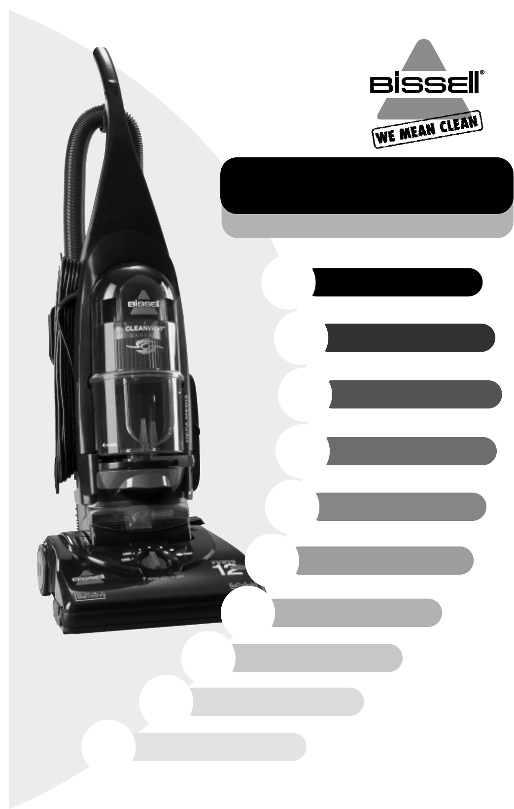 Bissell Vacuum Cleaner 3575 User Guide Manualsonline Com