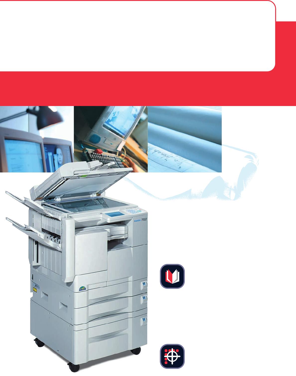 konica minolta all in one printer 7022 user guide manualsonline com rh office manualsonline com Konica Minolta Printer Transparent Konica Minolta Bizhub Printers