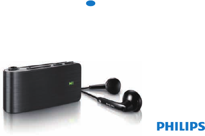 philips mp3 player sa018 user guide manualsonline com rh portablemedia manualsonline com philips gogear mp3 player 2gb manuel philips gogear sounddot 2gb mp3 player manual