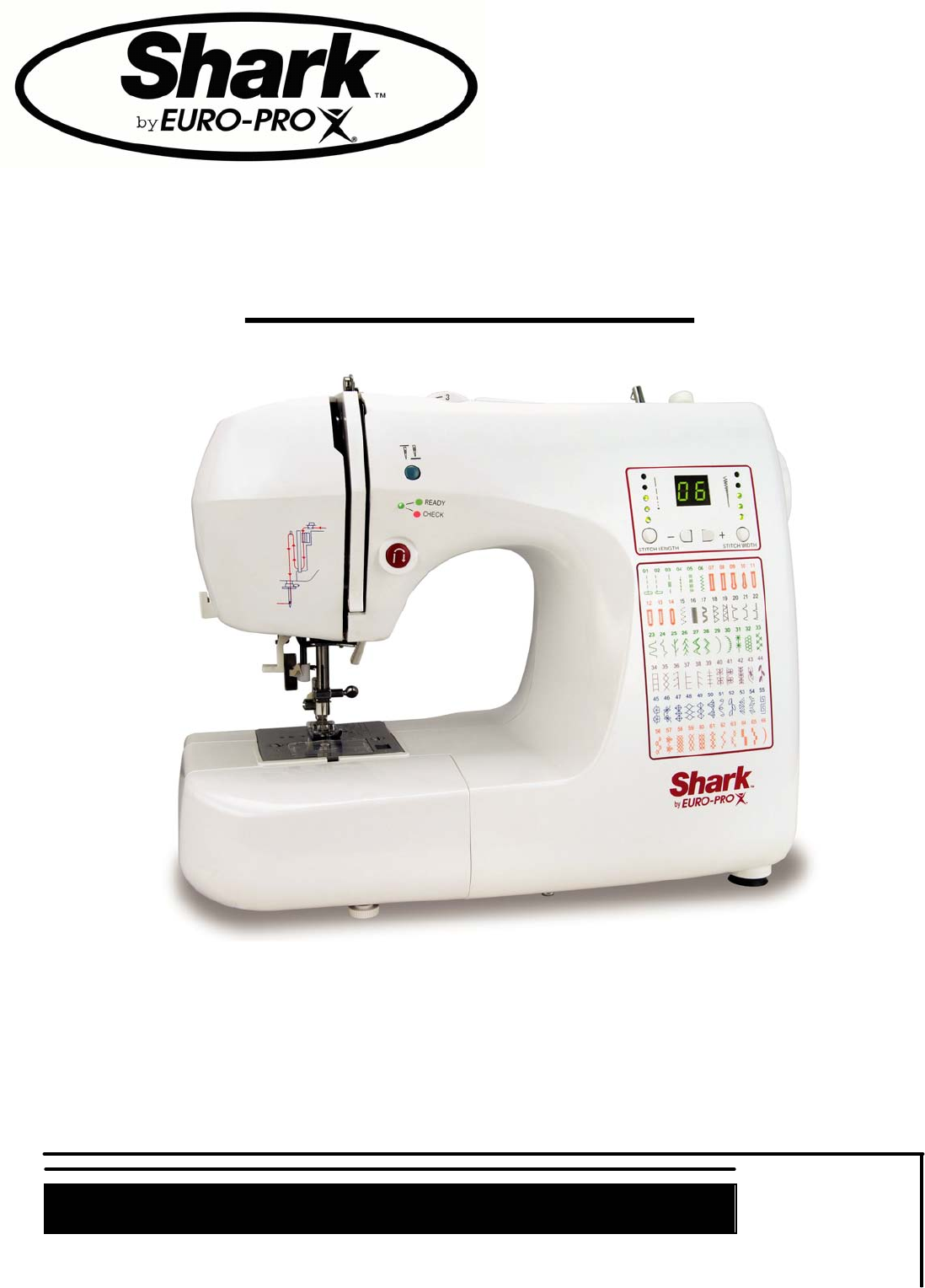 shark sewing machine 9015 user guide manualsonline com rh homeappliance manualsonline com shark sewing machine manual 7133 shark sewing machine manual 998a