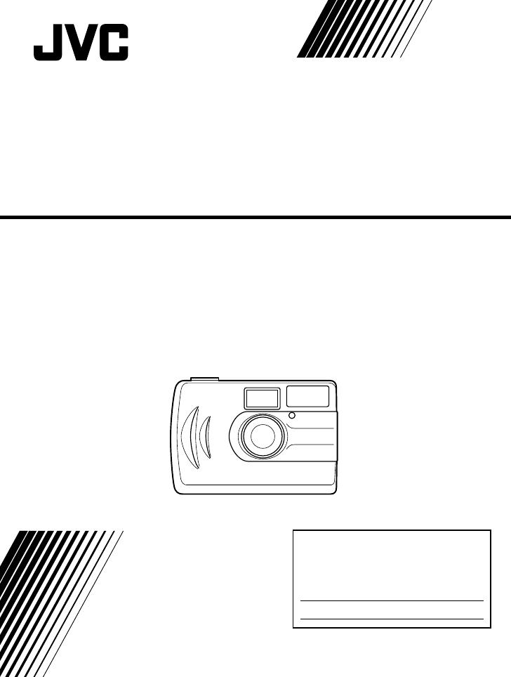 Jvc dual mode digital camera gc-a33