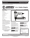 free campbell hausfeld nail gun user manuals manualsonline com rh powertool manualsonline com campbell hausfeld 2 in 1 nailer stapler manual campbell hausfeld 2 in 1 nailer stapler manual