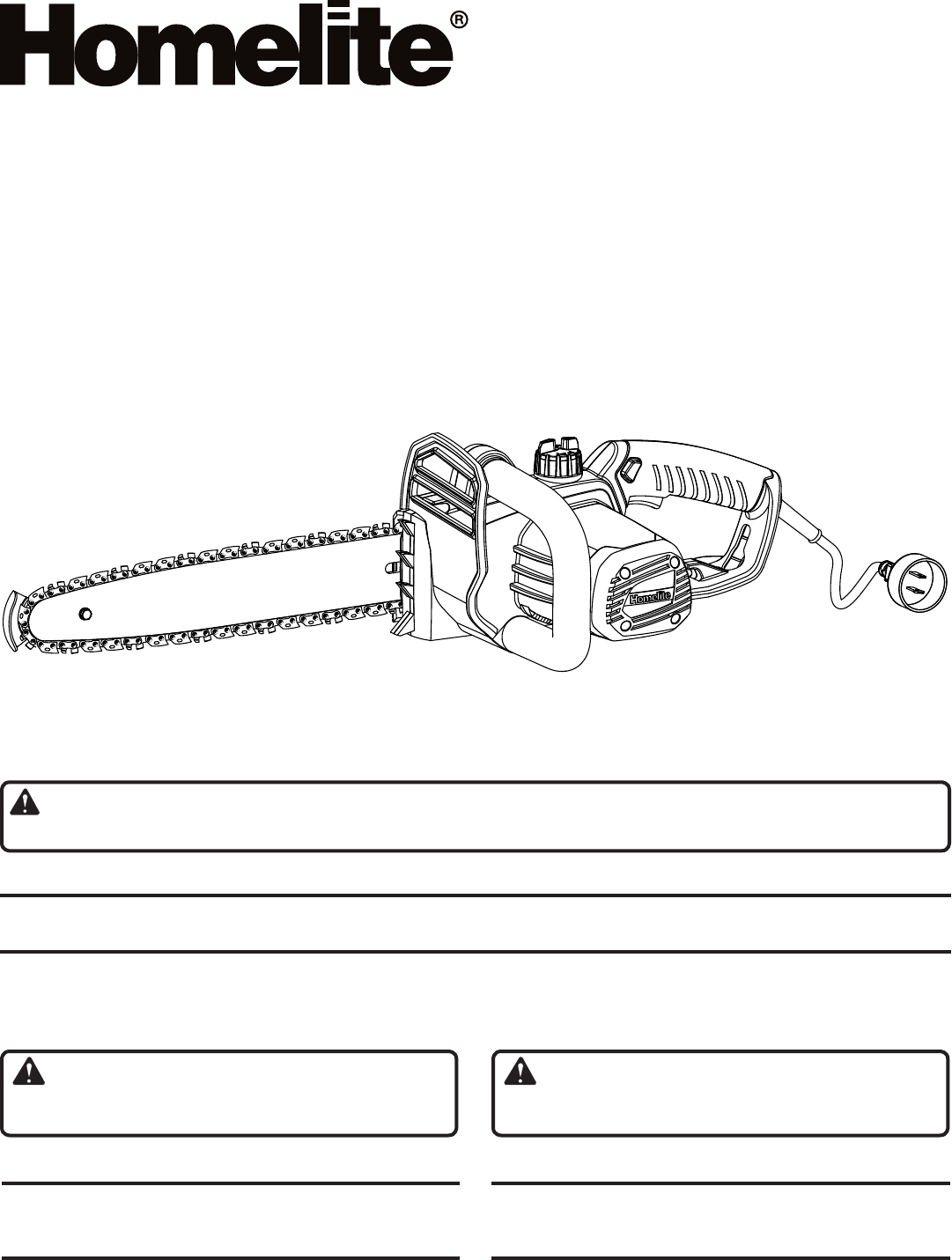 Homelite Chainsaw Ut43103 User Guide Manualsonlinecom Lawn Mower Wiring Diagram Save This Manual For Future Reference