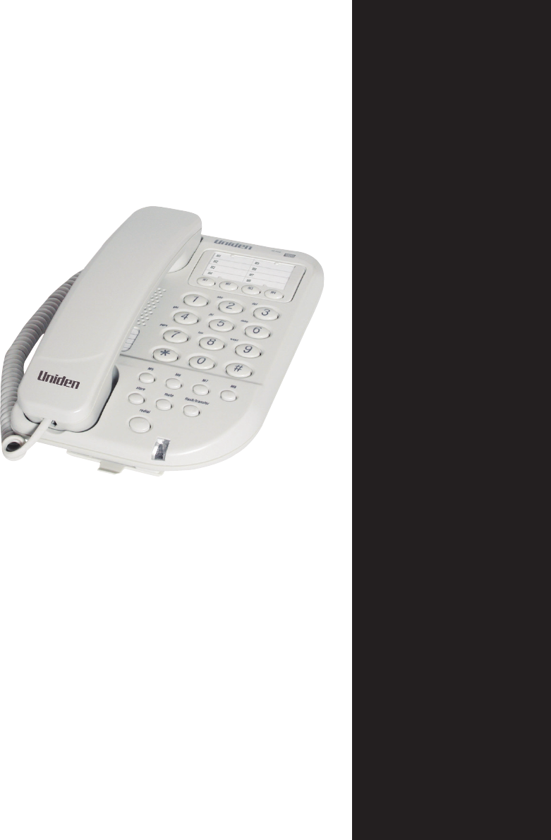 uniden cordless phone user manual