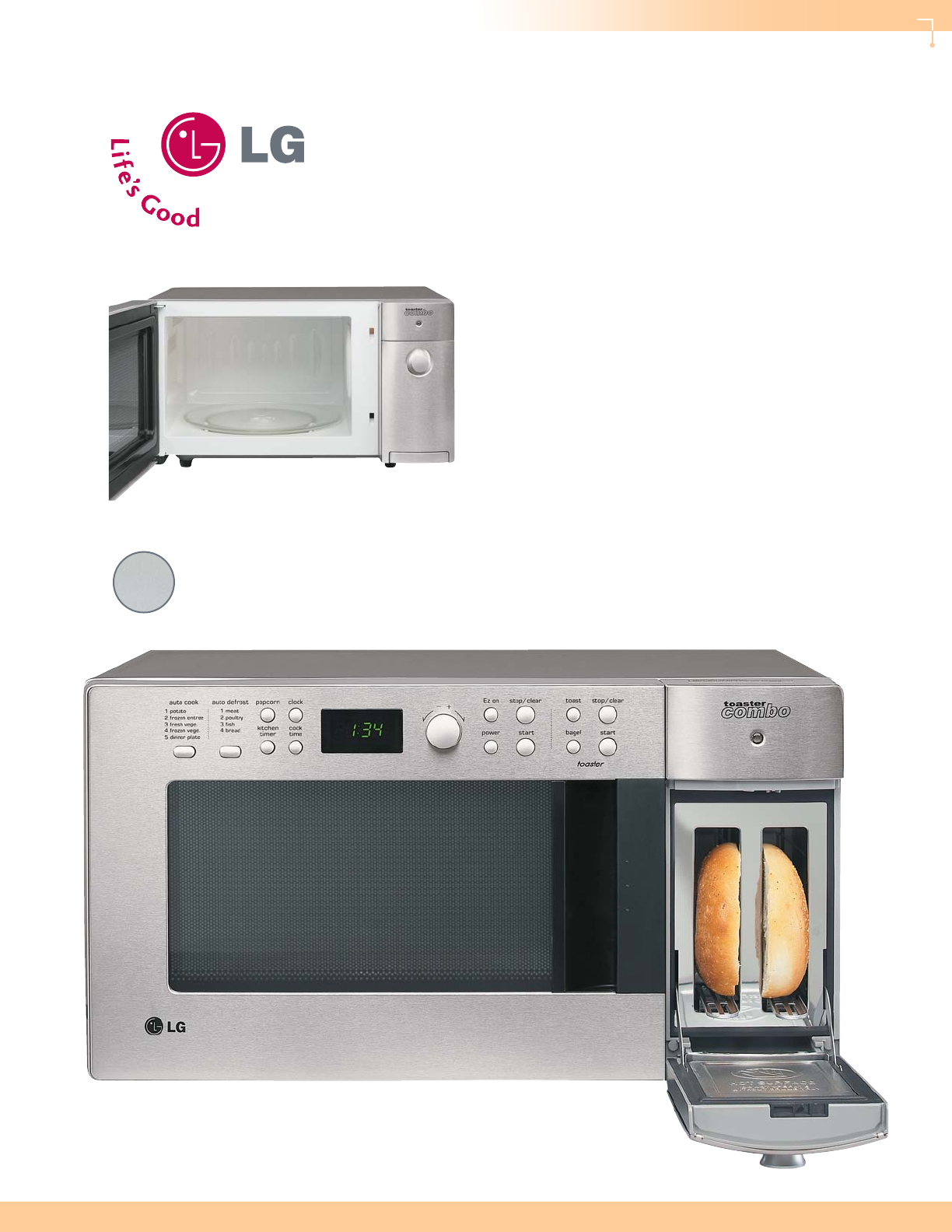 Lg Electronics Ltm9000 Oven User Manual