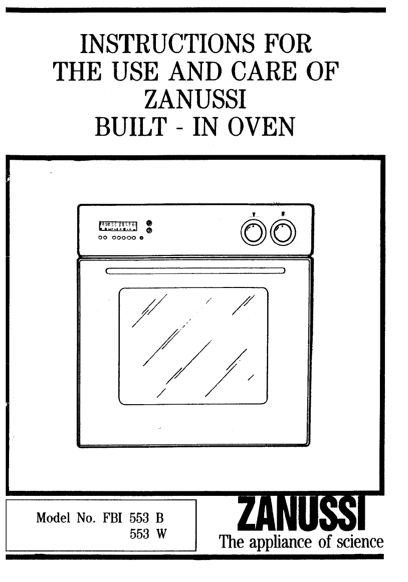how to change built in oven