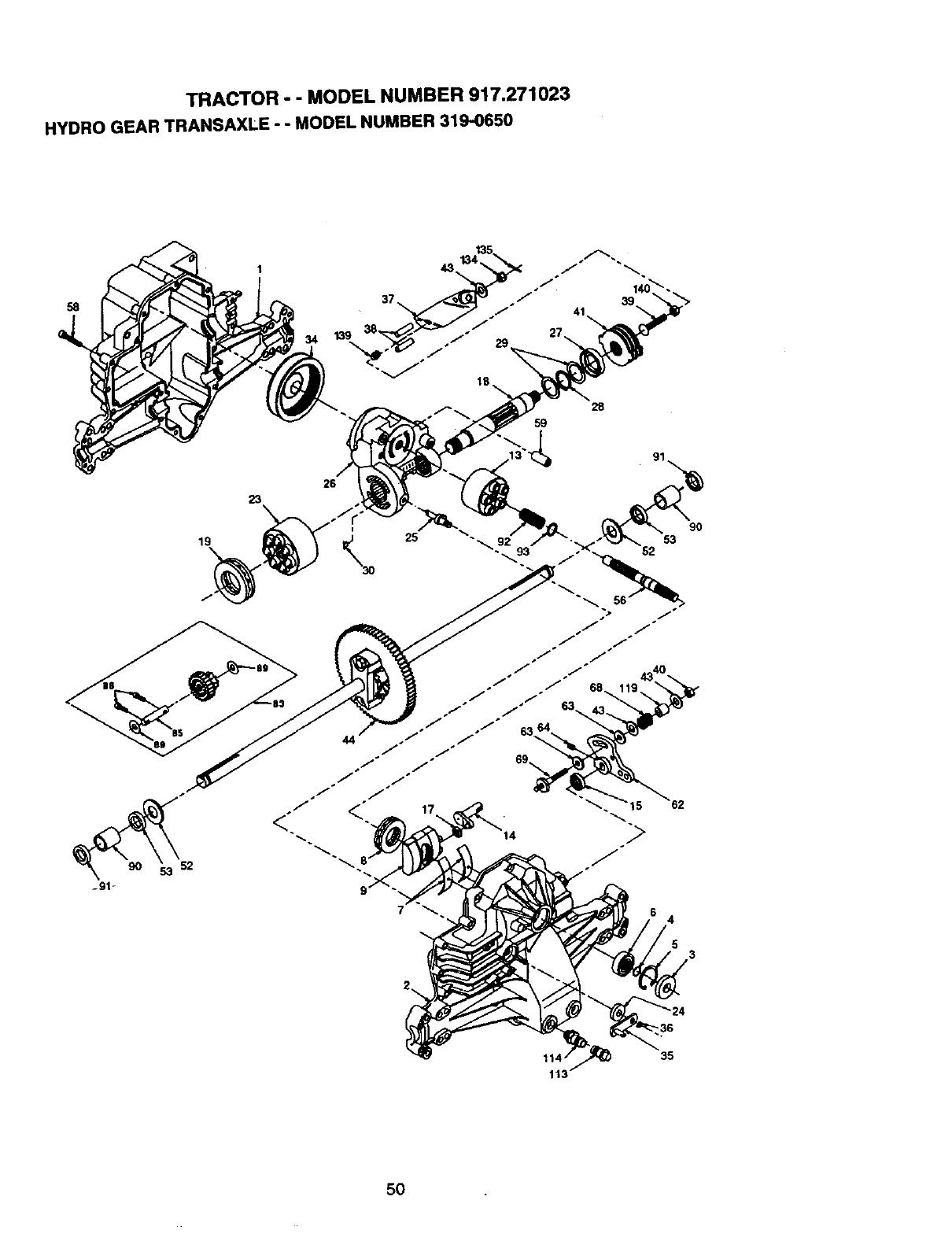 craftsman mower model 917 manual