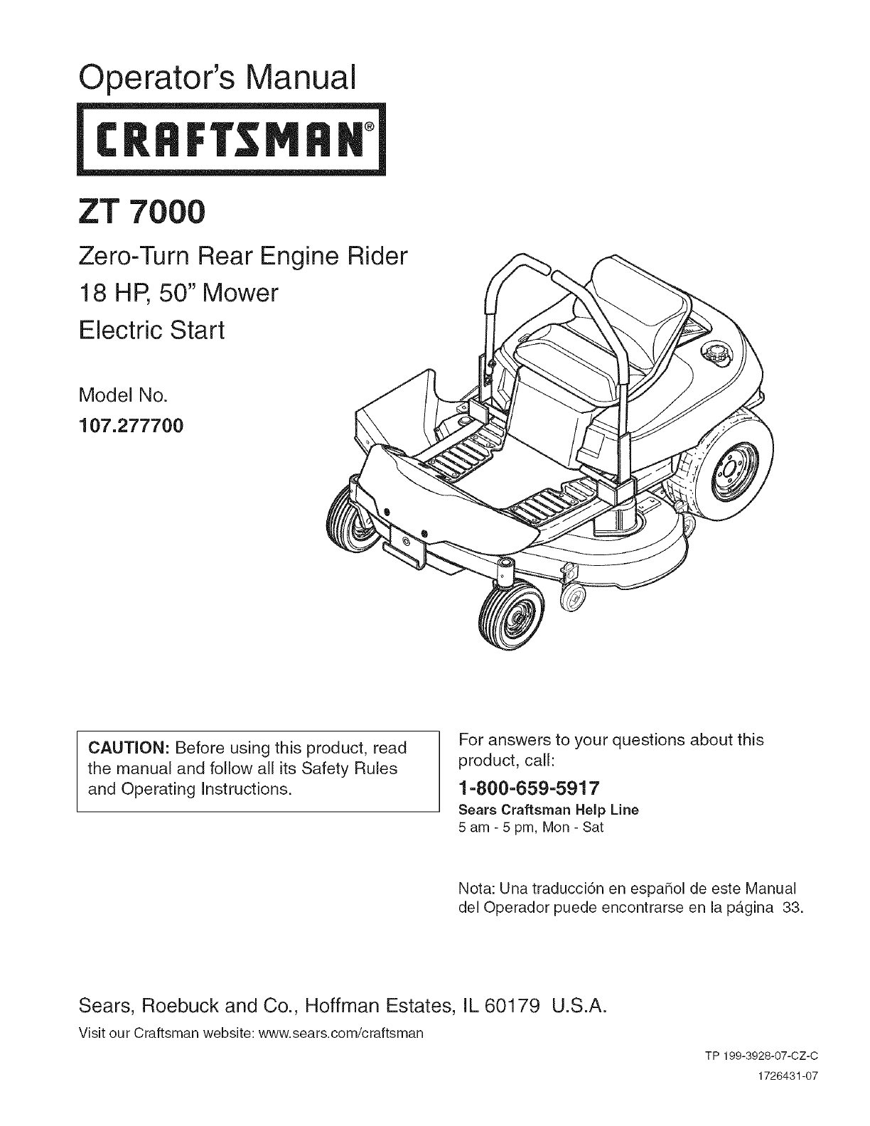 e8a839a6 2b52 4ef1 a868 cd853ae26c39 bg1 craftsman lawn mower 107 2777 user guide manualsonline com craftsman ztl 7000 wiring diagram at readyjetset.co