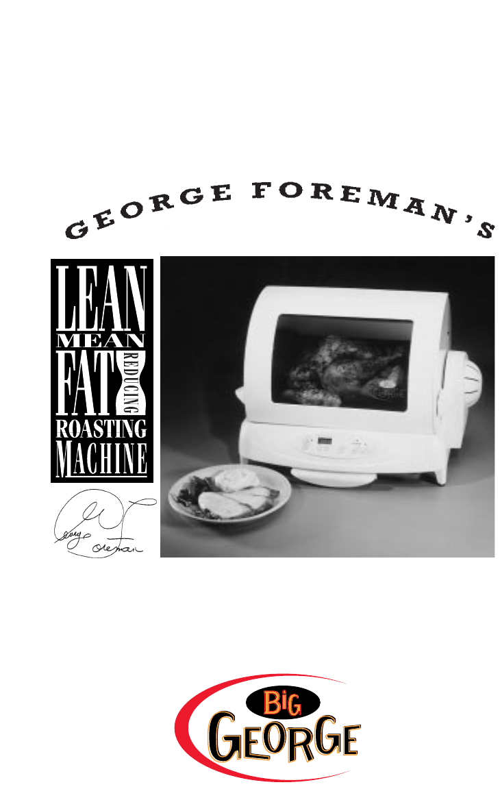 george foreman oven gr80b user guide manualsonline com rh kitchen manualsonline com George Foreman Rotisserie Manual Infrared Ovens Countertop