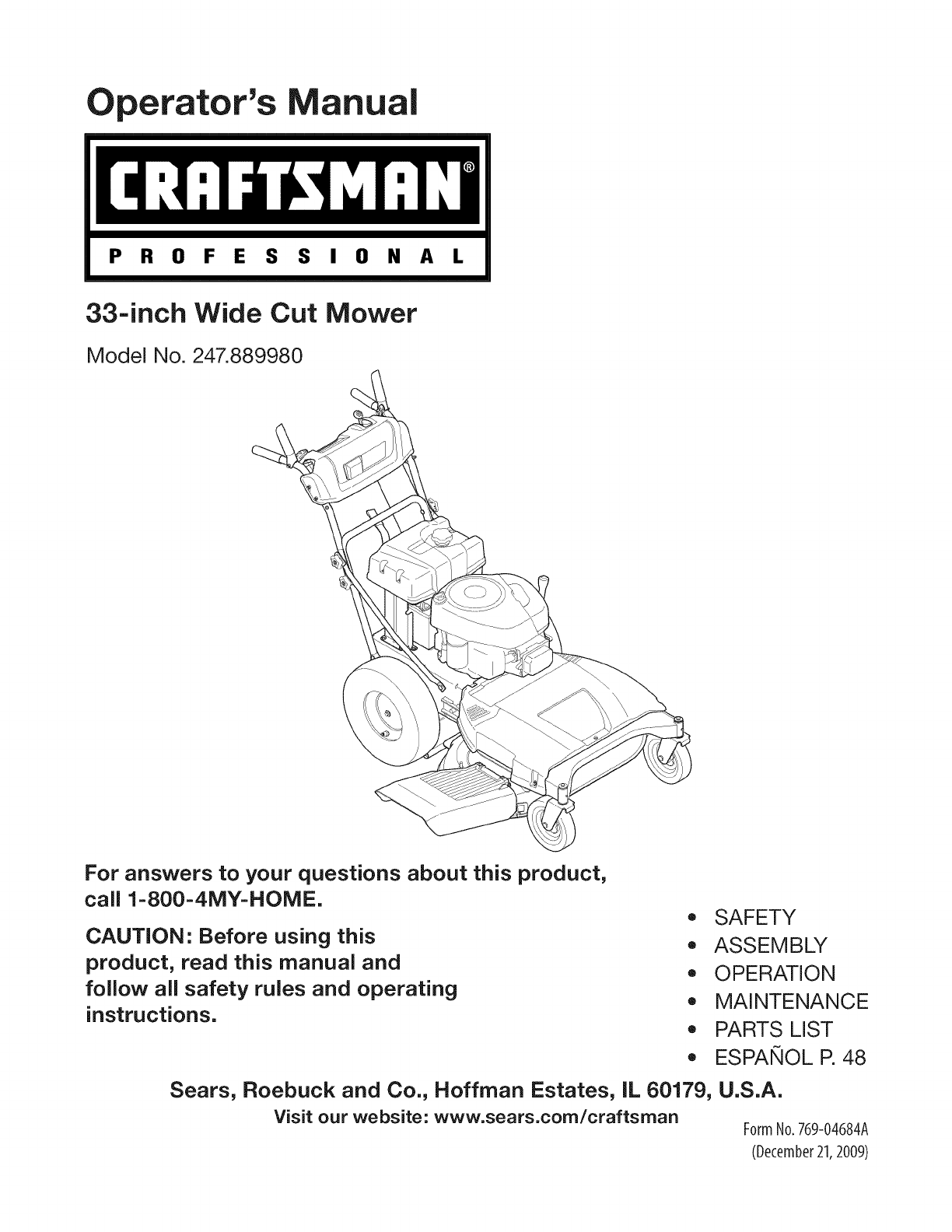 craftsman lawn mower 247 889980 user guide manualsonline com rh lawnandgarden manualsonline com craftsman owners manuals free craftsman owners manual 114a1752