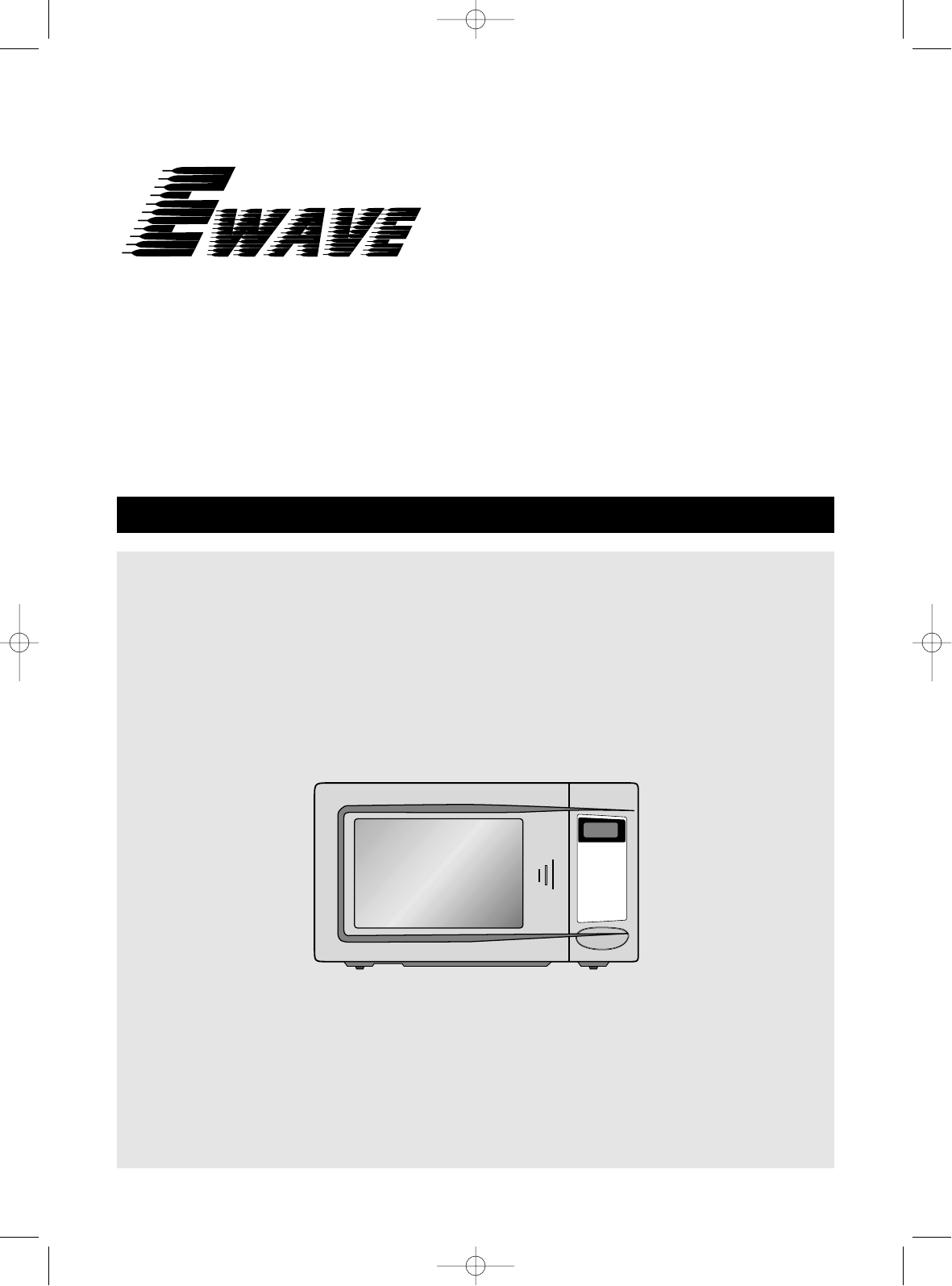 magic chef microwave oven manual