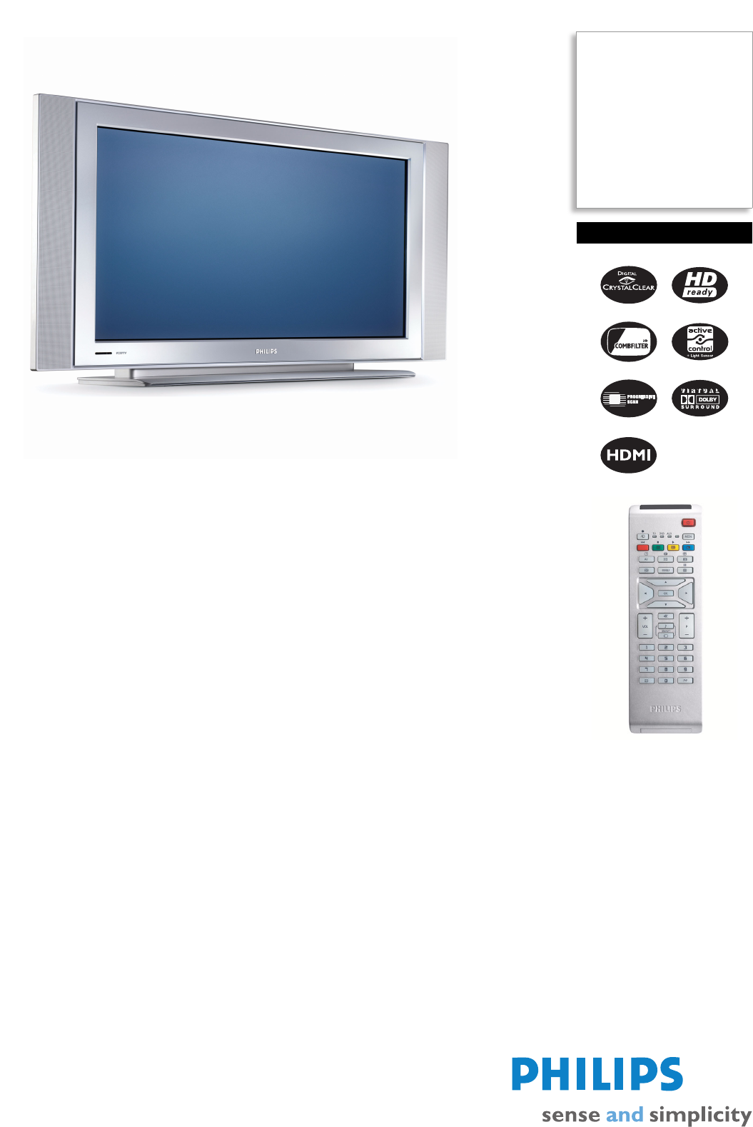 philips flat panel television wxga user guide manualsonline com rh tv manualsonline com philips tv user manual download philips tv user manual download