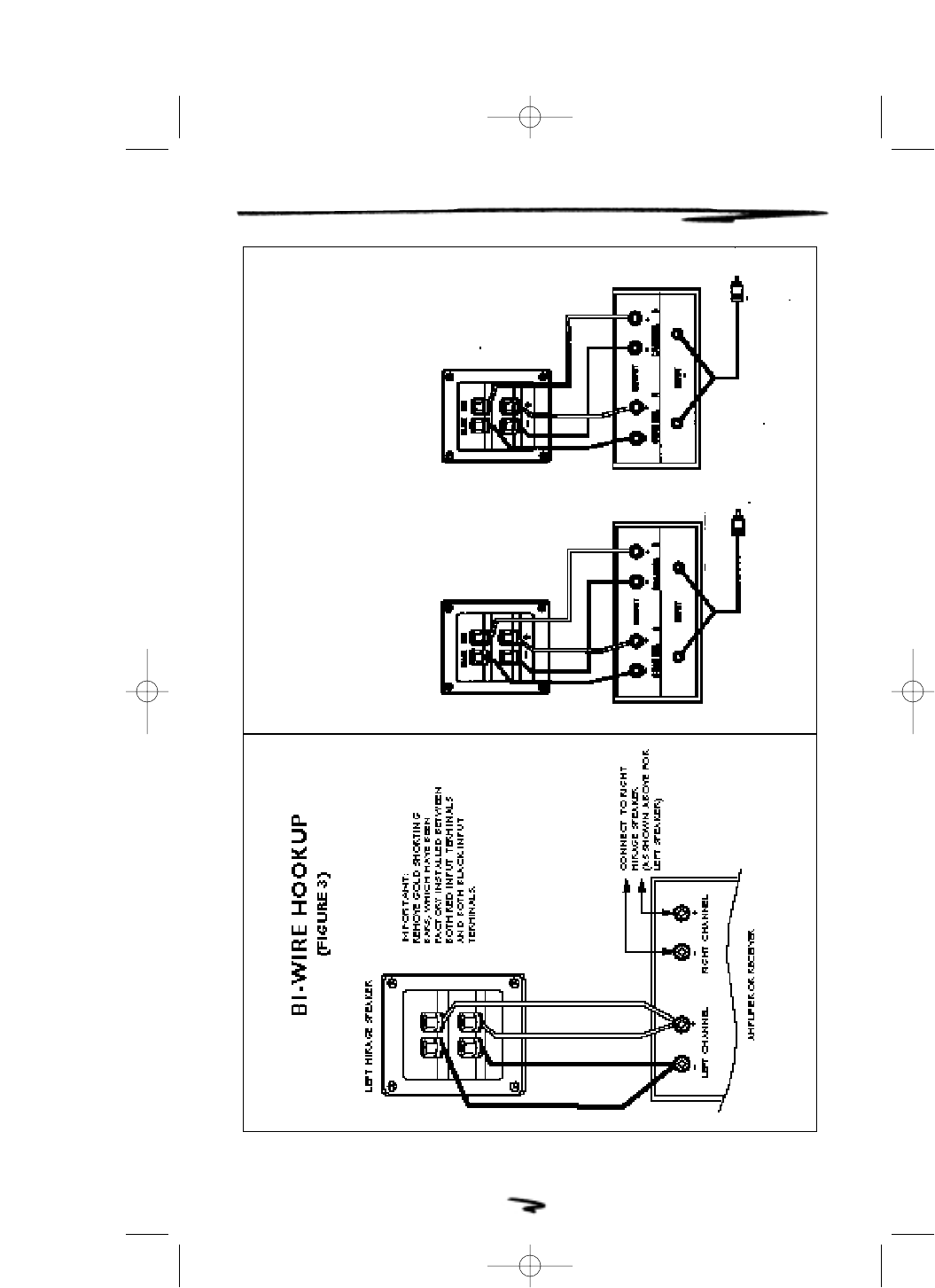 Page 7 Of Mirage Loudspeakers Portable Speaker 90 Is User Guide Bi Wiring Speakers Diagram 90is Series Owners Manual