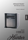 Electric Heater H1500RC-BLK