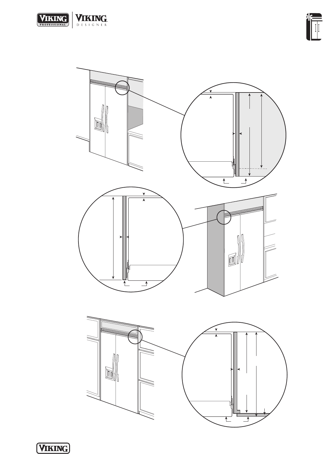 page 6 of viking refrigerator dfsb483d user guide