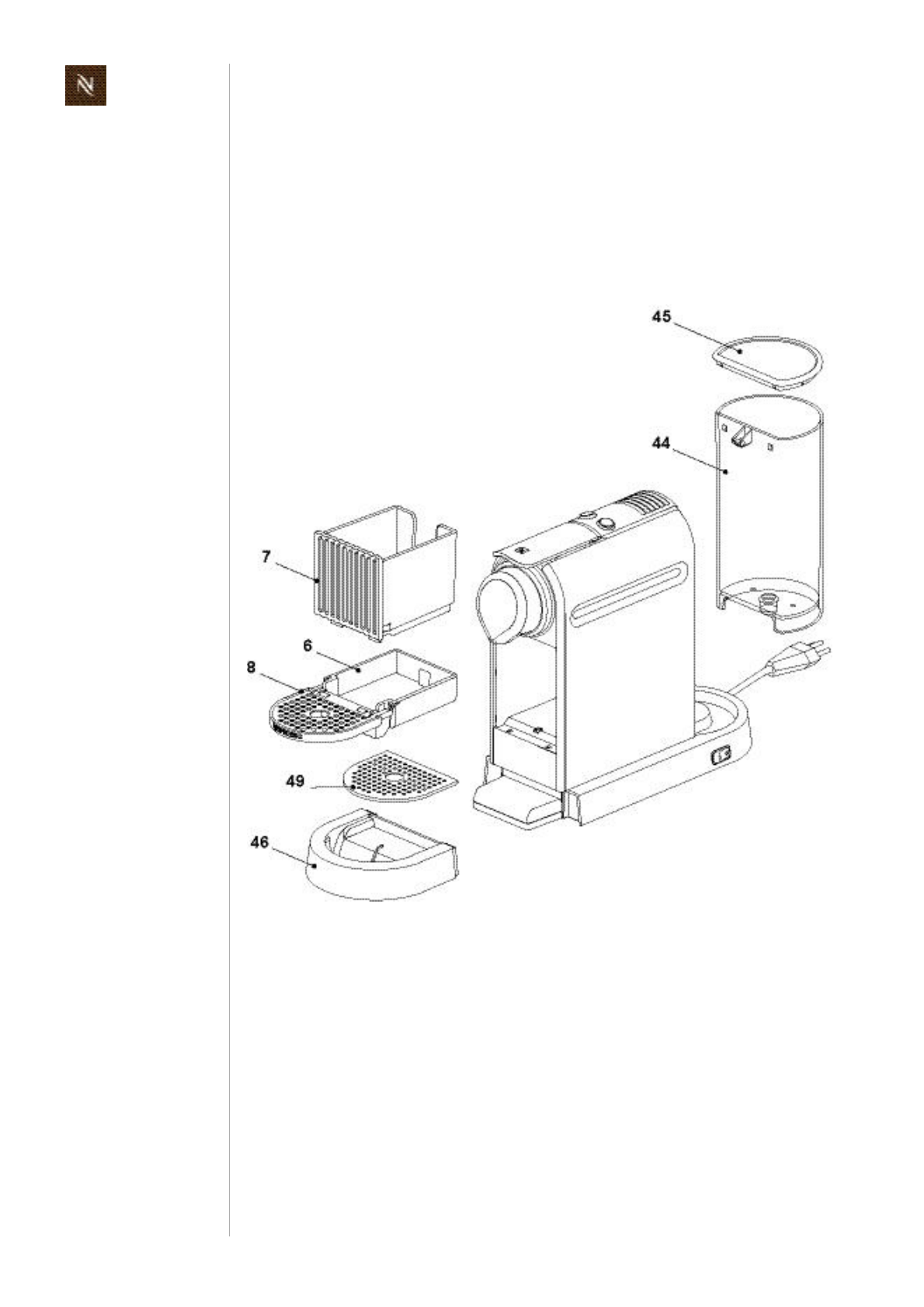 nespresso citiz descaling instructions pdf