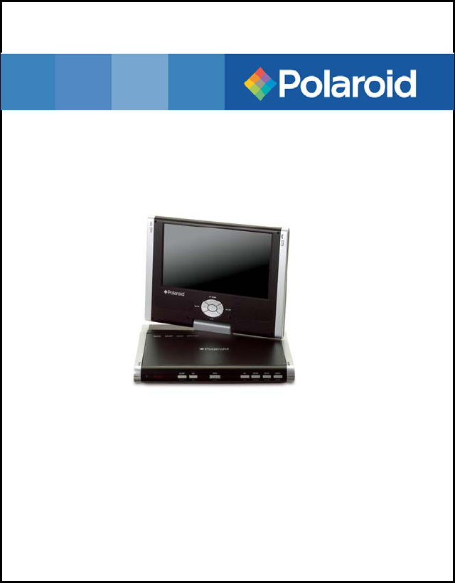 polaroid portable dvd player pdm 1058 user guide manualsonline com rh portablemedia manualsonline com Polaroid Portable DVD Player Amazon Walmart Dual Portable DVD Player