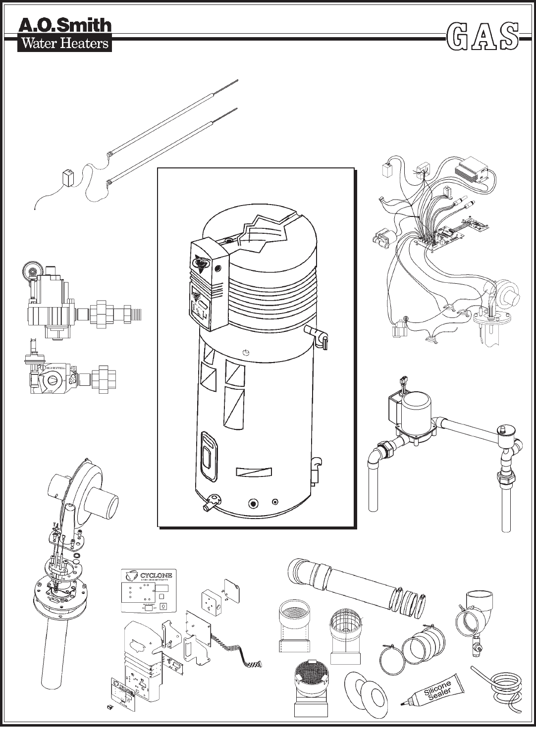gsw series 6 water heater manual